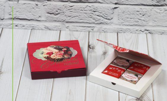 Набор книга 4 шоколад